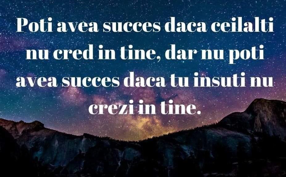 Adevăratul eșec este eșecul de a încerca.